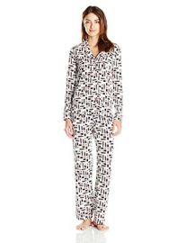 Cosabella Bella Long Sleeve Top and Pant Pajama Set at Amazon