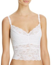 Cosabella Never Say Never Cropped Lace Cami in White at Bloomingdales