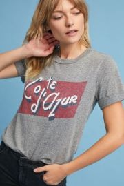 Cote D\'Azure T-Shirt by Anthropologie at Antrhopologie
