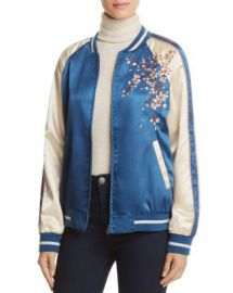 Cotton Candy LA Embroidered Bomber Jacket at Bloomingdales