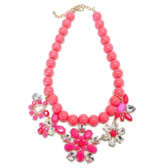 Cotton Candy Pink Necklace at T&J Designs