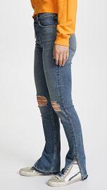Cotton Citizen The High Rise Split Skinny Jeans at Shopbop