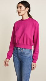 Cotton Citizen The Milan Cropped Sweatshirt at Shopbop