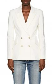 Cotton Double-Breasted Blazer by Derek Lam 10 Crosby at Barneys