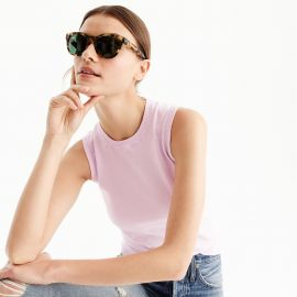 Cotton Jackie shell by J. Crew at J. Crew