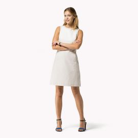 Cotton Linen Dress at Tommy Hilfiger