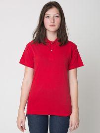 Cotton Pique Tennis Shirt at American Apparel