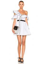 Cotton Poplin Frill Dress by Self Portrait at Forward