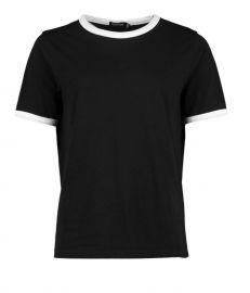 Cotton Ringer T-Shirt at Boohoo