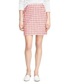 Cotton Slim Skirt at Brooks Brothers