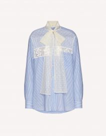 Cotton and Silk Shirt by RED Valentino at Italist