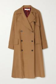 Cotton-blend canvas trench coat at Net A Porter