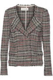 Cotton-blend tweed jacket at The Outnet