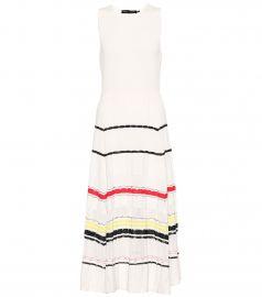 Cotton midi dress at Mytheresa