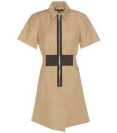 Cotton safari dress by Alexander Wang at Mytheresa