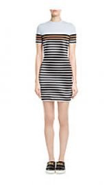 Cotton striped dress by Alexander Wang at Stylebop