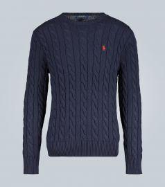 Cotton sweater at Mytheresa