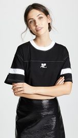 Courreges Oversized Logo T-Shirt at Shopbop