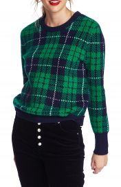 Court  amp  Rowe Cozy Boucl   Plaid Sweater   Nordstrom at Nordstrom