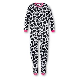Cow Print Footed Sleeper at Target