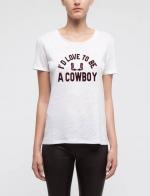 Cowboy tee by Sandro at Sandro