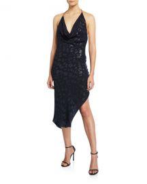 Cowl Neck Halter Dress by Cushnie at Bergdorf Goodman