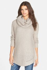 Cowl Neck Sweater by Dreamers by Debut at Nordstrom Rack