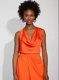 Cowl-Neck Top - Gabrielle Union Collection at NY&C