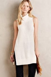 Cowled Sweater Tunic at Anthropologie