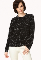 Cozy Speckled Sweater at Forever 21