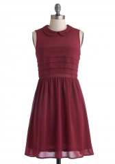 Cranberry Craze Dress at ModCloth