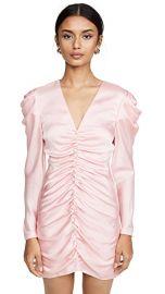 Crepe Back Satin Puff Sleeve Dress at Shopbop