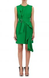 Crepe Belted Dress by Calvin Klein 205W39NYC at Barneys Warehouse