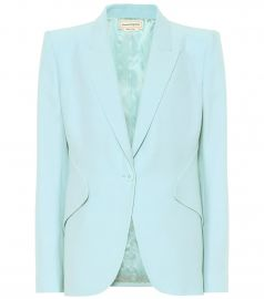 Crepe Blazer at Mytheresa