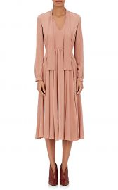 Crepe Scarf-Neck Dress by Derek Lam at Barneys