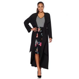 Crepe Trench with Grommet Belt Loop by Wendy Williams HSN Collection at HSN
