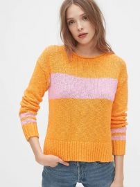 Crewneck Pullover Sweater by Gap at Gap
