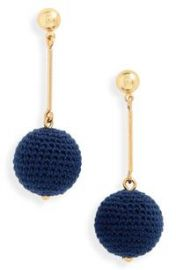 Crochet Ball Drop Earrings by J Crew at Nordstrom