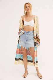 Crochet Cardigan Jacket at Free People