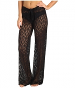 Crochet coverup pants by Becca by Rebecca Virtue at Zappos