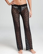 Crochet pants by Becca by Rebecca Virtue at Bloomingdales