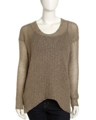 Crochet sweater by Helmut Lang at Last Call