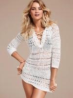 Crochet sweater from Victorias Secret at Victorias Secret