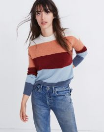 Crofton Stripe Pullover at Madewell