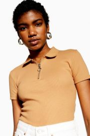 Crop Polo Shirt at Nordstrom Rack