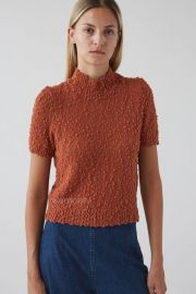 Crop Short Sleeve Sweater by Rachel Comey at Rachel Comey