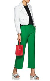 Crop Wide-Leg Trousers at Barneys Warehouse