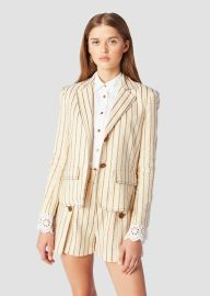 Cropped Blazer by Derek Lam 10 Crosby at Derek Lam