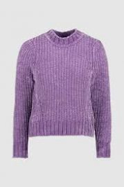 Cropped Chenille Sweater at Whistles