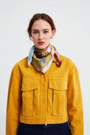 Cropped Jacket with Pockets by Zara at Zara